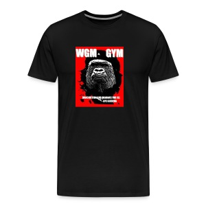 WGM GYM Eat Meat Mens Cotton Tee - Men's Premium T-Shirt