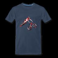 T-Shirts ~ Men's Premium T-Shirt ~ MTB Shirt - Dirt Bike Design