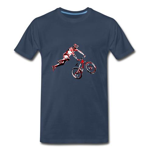 MTB Shirt - Dirt Bike Design - Men's Premium T-Shirt
