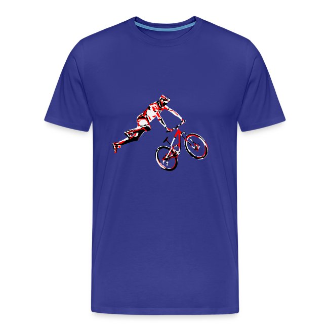 MTB Shirt - Dirt Bike Design