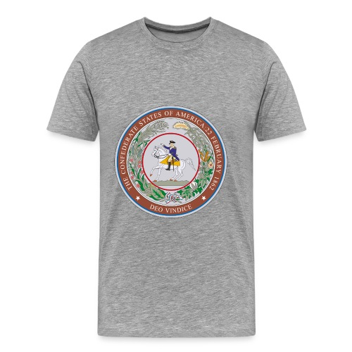 CSA Seal Men's Heavyweight T-Shirt - Men's Premium T-Shirt