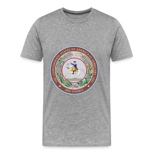 CSA Seal Men's Heavyweight T-Shirt - Men's Premium T-Shirt