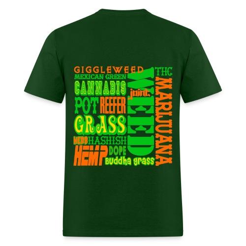 Jammoth Wake and Bake - Men's T-Shirt