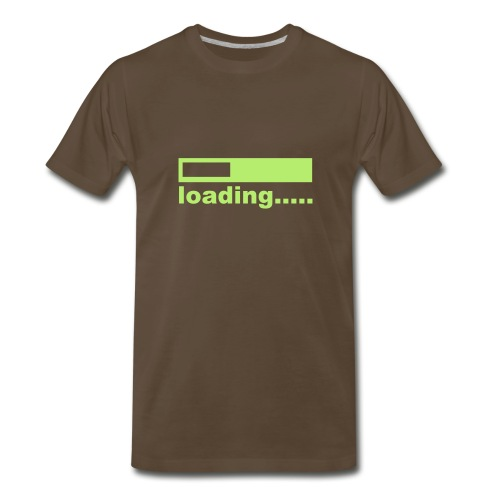 Loading Bar - Men's Premium T-Shirt