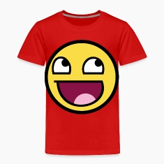 Awesome Smiley Toddler Shirts