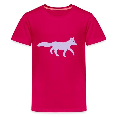 t-shirt fox foxy tod readhead game hunter hunting - Kids' Premium T-Shirt