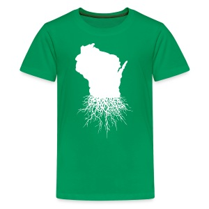 Wisconsin Roots - Kids' Premium T-Shirt