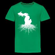 Kids' Shirts ~ Kids' Premium T-Shirt ~ Michigan Roots Children's T-Shirt