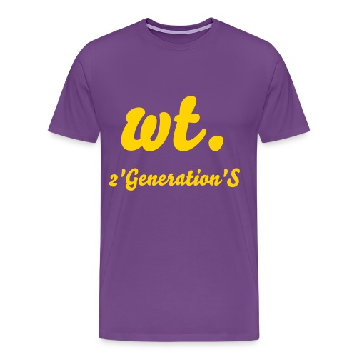 wt./ 2GS - Men's Premium T-Shirt