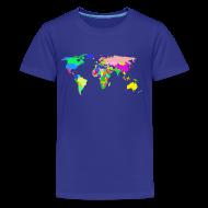 Kids' Shirts ~ Kids' Premium T-Shirt ~ The World