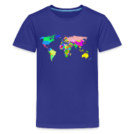 Kids' Shirts ~ Kids' Premium T-Shirt ~ The World