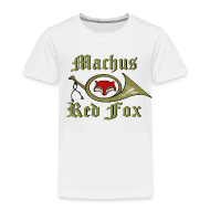 Baby & Toddler Shirts ~ Toddler Premium T-Shirt ~ Machus Red Fox
