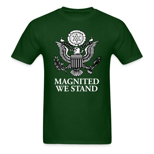 Magnited We Stand - Olive Shirt - Men's T-Shirt