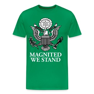 Magnited We Stand - Olive 3X Shirt - Men's Premium T-Shirt