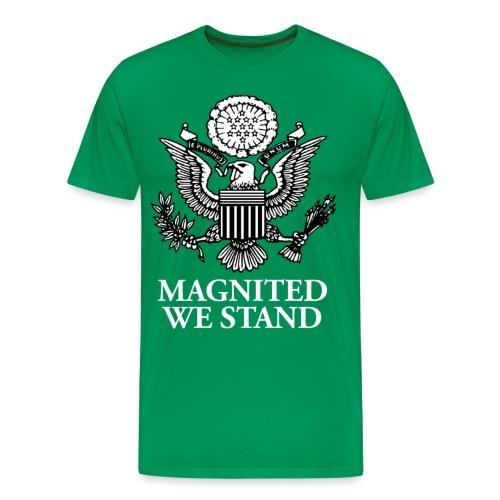 Magnited We Stand - Olive 3X Shirt - Men's Premium T-Shirt