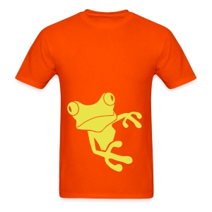 t-shirt frog princess prince kiss me toad squib paddock pout frogmouth mouth lips - Men's T-Shirt