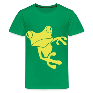 t-shirt frog princess prince kiss me toad squib paddock pout frogmouth mouth lips - Kids' Premium T-Shirt