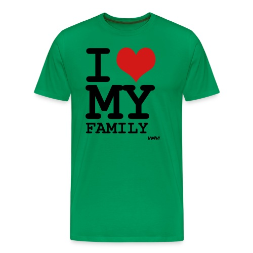 I Love My Family - Men's Premium T-Shirt