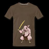 T-Shirts ~ Men's Premium T-Shirt ~ Zombie Pigman - 3XL