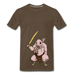 Zombie Pigman - 3XL - Men's Premium T-Shirt