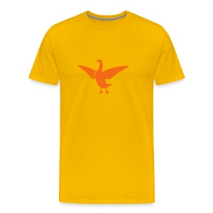 t-shirt goose duck chicken breast rooster wings thanksgiving cooking - Men's Premium T-Shirt