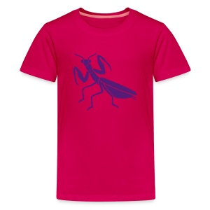 t-shirt praying mantis bug insect - Kids' Premium T-Shirt