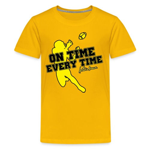 On Time Every Time - Kids' Premium T-Shirt