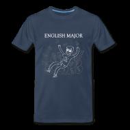 T-Shirts ~ Men's Premium T-Shirt ~ English Major Shirt