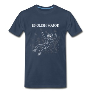 English Major Shirt - Men's Premium T-Shirt