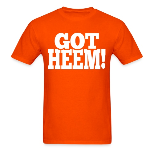 Got Heem! - T-Shirt - Black - Men's T-Shirt