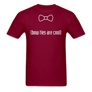 Doctor Who--Bow Ties are Cool - Men's T-Shirt