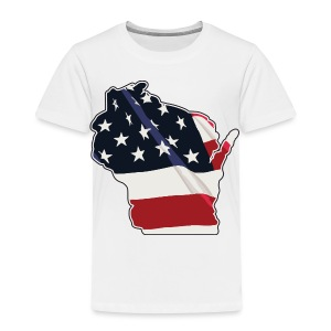 USA Wisconsin - Toddler Premium T-Shirt