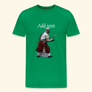 Medieval knight martial arts - Men's Premium T-Shirt