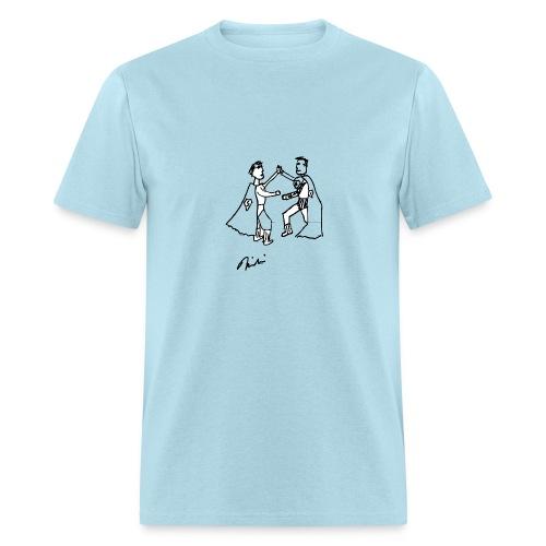 USofAnderson - 2 Supermen - Men's T-Shirt