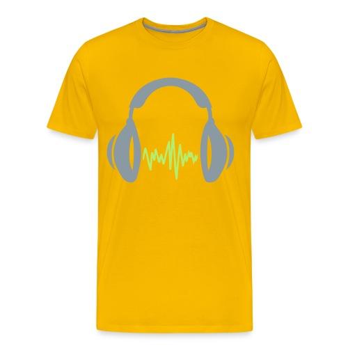 Headpone Vibes T-Shirt (2) - Men's Premium T-Shirt