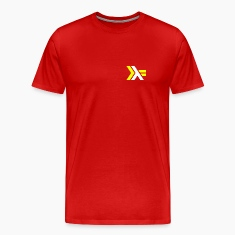 Haskell Logo on Red Shirt