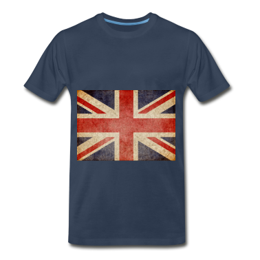 Faded UK Flag T-Shirts