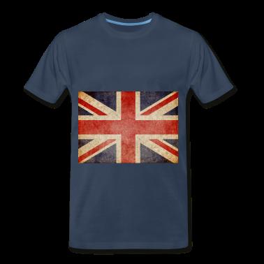 Faded UK Flag T-Shirts