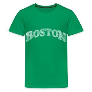 Distressed Boston Arch - Kids' Premium T-Shirt