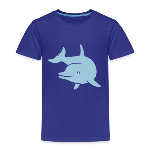t-shirt porpoise dolphin flipper fin ocean free wild - Toddler Premium T-Shirt