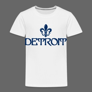 Fleur De Lis Detroit Toddler T-Shirt - Toddler Premium T-Shirt