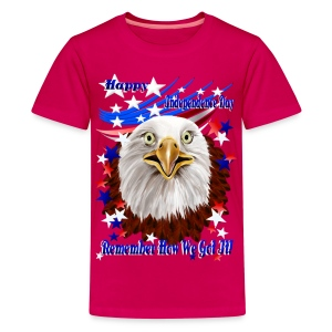Grand Ol' Eagle-Independence Day - Kids' Premium T-Shirt