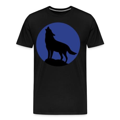 Howling Wolf - Men's Premium T-Shirt