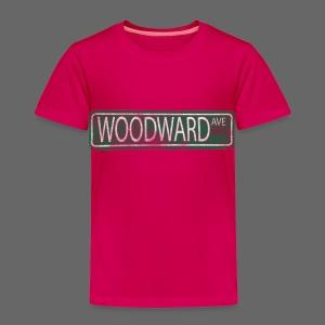Woodward Ave. - Toddler Premium T-Shirt