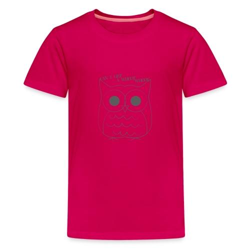 Kid's Hoot Graphic Tee - Kids' Premium T-Shirt