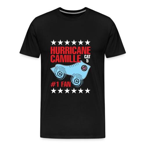 Hurricane Camille Cat 5 #1 Fan - Men's Premium T-Shirt