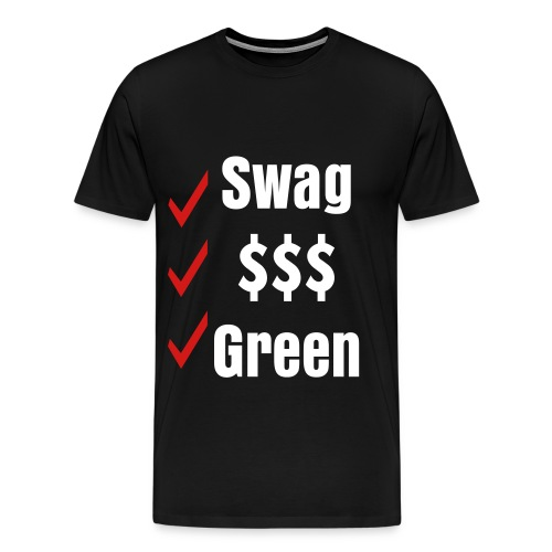 Swag $ Weed - Men's Premium T-Shirt