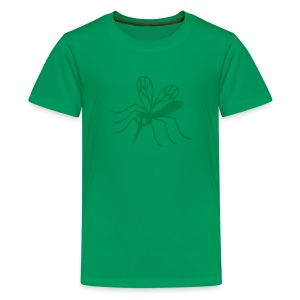 t-shirt mosquito gnat midge insect blood vampire bat - Kids' Premium T-Shirt