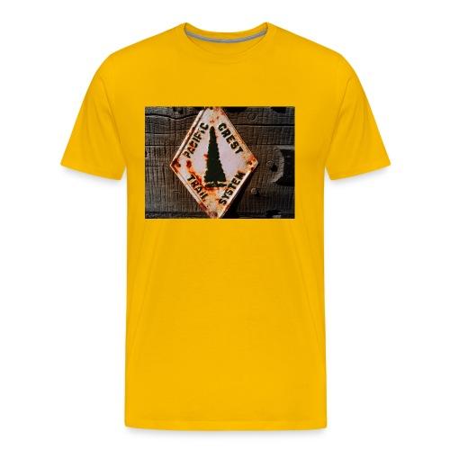 Pacific Crest Trail  - Men's Premium T-Shirt