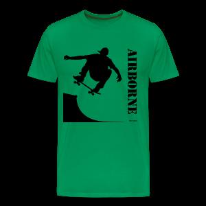 Airborne - Skateboarder - Men's Premium T-Shirt